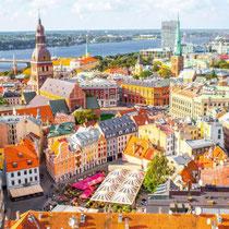 Riga - Panoramic view of the city