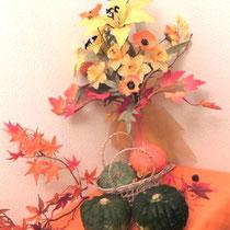 ① 秋の花