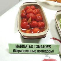 ② Marinated Tomatoes - Маринованные помидоры - トマトのマリネ