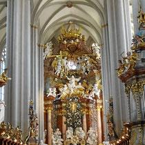 Hochaltar -  Himmelfahrt Mariens