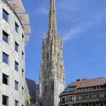 """Wien - Der """"Steffl"""" - © mw"""
