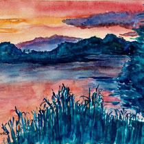 2002 - Irische Impression - Aquarell
