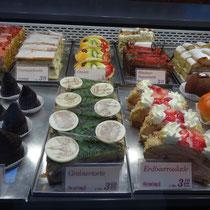 Köstlichkeiten der Cafe-Konditorei Schörgi - Foto ©MW