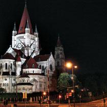 Franz von Assisi-Kirche an der Donau - © mw