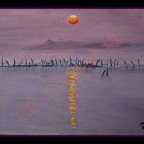 2006 -  Acryl/Leinw. 30 x 24 cm, Holzrahmen