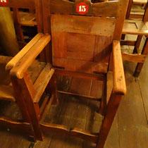 Der versperrte Sitz - Foto ©MW