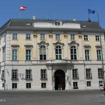 Ballhausplatz - Das Bundeskanzleramt -  © mw