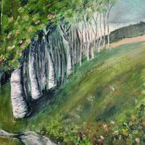 2004 - Acryl/Papier, 50 x 65 cm