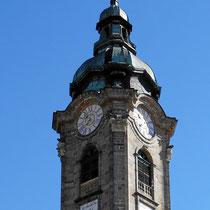 Stiftskirche - Turm 77 m hoch