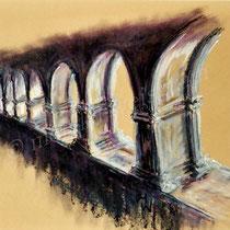 2003 - Ölkreide/Papier, 40 x 50 cm