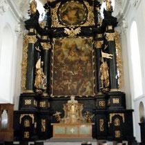 Klosterkirche, Altarbild von Andrea Celesti