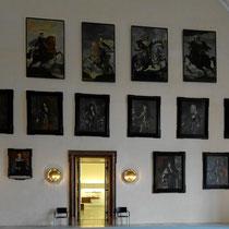 Rittersaal 30 m lang, 16 m breit, 14 m hoch - Foto ©MW