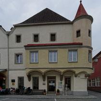 Stadthauptplatz mit Häusern aus dem 16. und 17. Jh. - Foto ©MW