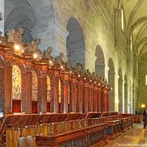 das barocke Chorgestühl von Giovanni Giuliani,