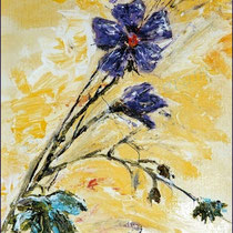 2000 - Acryl/Papier, 30 x 40 cm (1. Acrylkurs Geras)