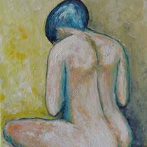 2009 - Akt I - Acryl/Leinwand, 40 x 50 cm