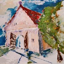 2004 - Acryl/Leinw. /Spachteltechn. 30 x 40 cm