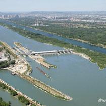 Donaukraftwerk Freudenau / Wien