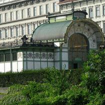 Stationsgebäude Karlsplatz, Arch. Otto Wagner -  © mw