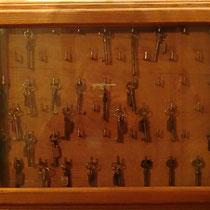Schlüssel für die Sperrsitze - Foto ©MW