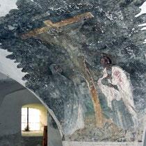 Fresken beim ehemaligen Grab Friedrich des Schönen