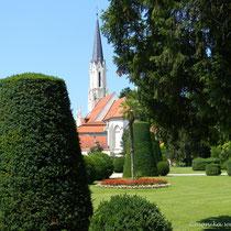 Wien 13 - Hietzing - meine frühere Heimat - Pfarrkirche - © mw