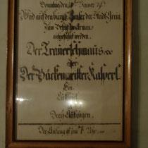 """Originalprogramm 1793 """"Der Trauerschmaus"""" oder """"Der Bäckermeister Kasperl"""" - Foto ©MW"""