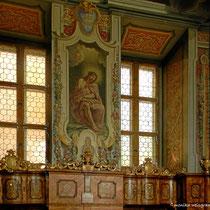 Sakristei -  Malerei 1715-1716 durch Stiftsmaler Johann Cyriak Hackhofer