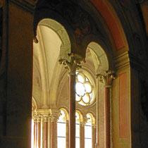 Blick in den frühgotischen Kreuzgang