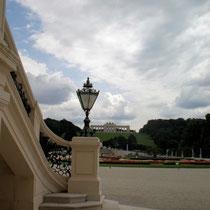 Blick vom Schloss zur Gloriette - © mw