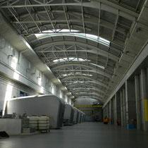 Donaukraftwerk Freudenau / Wien - Turbinenhalle