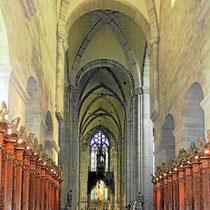 Abteikirche - Kirchenschiff (1187)