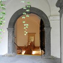 Zugang zur Sala Terrena, einem Festsaal - Foto ©MW