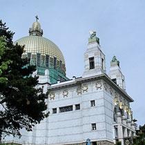 """Otto Wagner Kirche """"Am Steinhof"""" Wien 14.Bez. - © mw"""