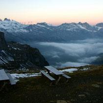 Urner Alpen 5 - Blick von der Rugghubelhütte