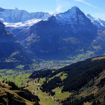 Motiv 1 - Grindelwald vor Eiger