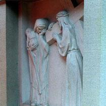 8. Station - Jesus tröstet die weinenden Frauen
