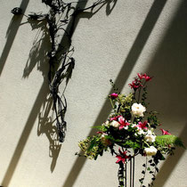 Motiv 12 - Wandkreuz, Collegium Borromäum