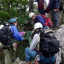 Wald-Fels-Passage