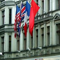 Motiv 16 - Flaggen der Siegermächte des 2. Weltkriegs