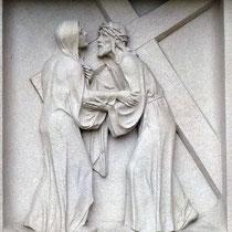 4. Station - Jesus begegnet seiner Mutter