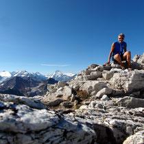 Bella Tola-Gipfel - 3025 M
