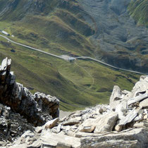 Tiefblick zum Albulapass