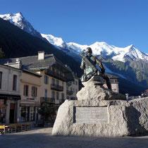 Motiv 3 - Jaques Balmat 1786 - Blick zum Mont Blanc