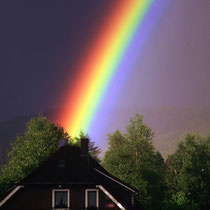 Motiv 11 - Abendlicher Regenbogen über Titisee