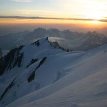 Motiv 14 - Am Gipfel des Mont-Blanc