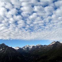 Alpenkette La Ruinette