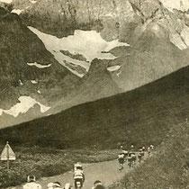 Randonneur des Alpes