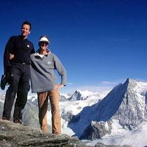Gebr. Schmider am Gipfel - 3548 M