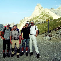 Am Rotsteinpass - 2142 M